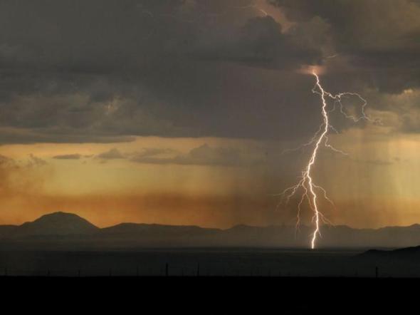 New Mexico lightning