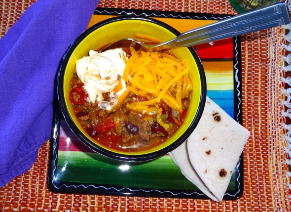 beer and beer chili