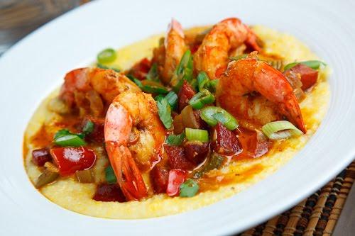 Shrimp & Andouille Sausage Grits